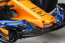 Morro y alerón delantero del McLaren MCL33