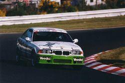 #10 Scheid Motorsport BMW M3 E36: Johannes Scheid, Sabine Reck, Hans Widmann