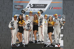 Podium: #6 Acura Team Penske Acura DPi, P: Dane Cameron, Juan Pablo Montoya, #7 Acura Team Penske Acura DPi, P: Helio Castroneves, Ricky Taylor, #77 Mazda Team Joest Mazda DPi, P: Oliver Jarvis, Tristan Nunez, podium