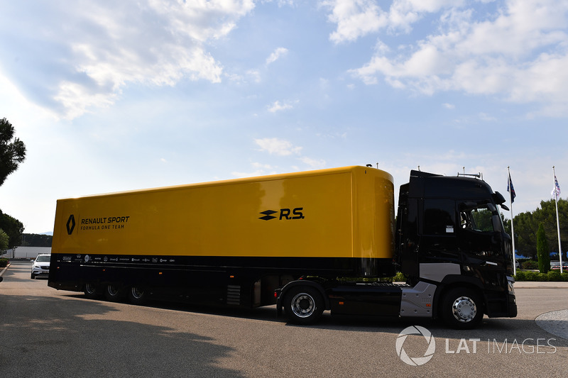 Camion Renault Sport F1 Team