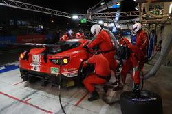 Давиде Ригон, Сэм Бёрд, Мигель Молина, AF Corse, Ferrari 488 GTE Evo (№71)