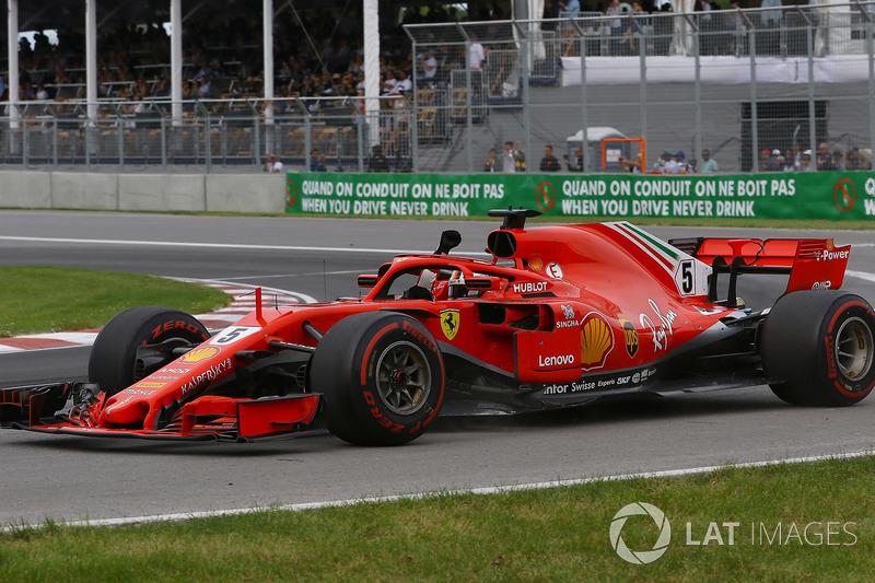 A vitória de Vettel combinada com a quinta posição de Hamilton devolveu a liderança do campeonato ao alemão, apenas um ponto à frente do piloto da Mercedes
