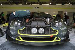 Aston Martin Racing team area
