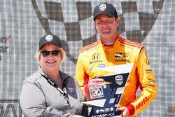 Ryan Hunter-Reay, Andretti Autosport Honda, podium
