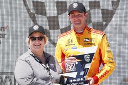 Podio: Ryan Hunter-Reay, Andretti Autosport Honda