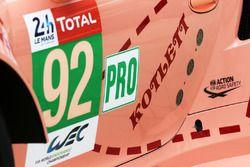 #92 Porsche GT Team Porsche 911 RSR