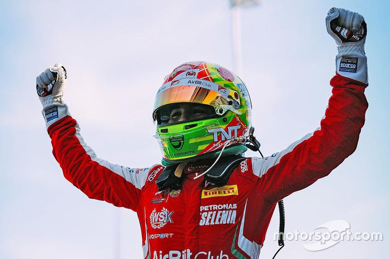 Ganador Enzo Fittipaldi, Prema Theodore Racing