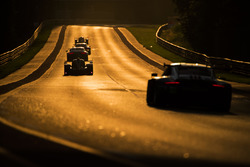 The sun sets on race action