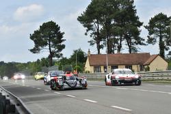 #28 TDS Racing Oreca 07 Gibson: François Perrodo, Matthieu Vaxiviere, Loic Duval, #94 Porsche GT Team Porsche 911 RSR: Romain Dumas, Timo Bernhard, Sven Müller