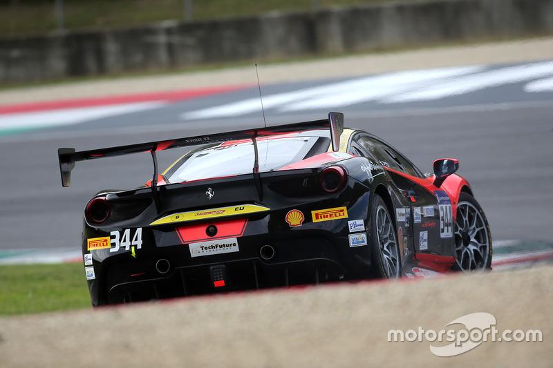 #344 Baron Service Ferrari 488: Vladimir Hladik