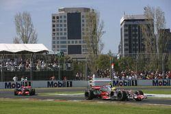 Lewis Hamilton, McLaren MP4-22