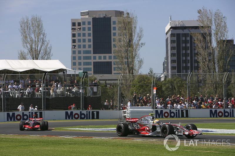 Lewis Hamilton - GP de Australia 2007 (3º)
