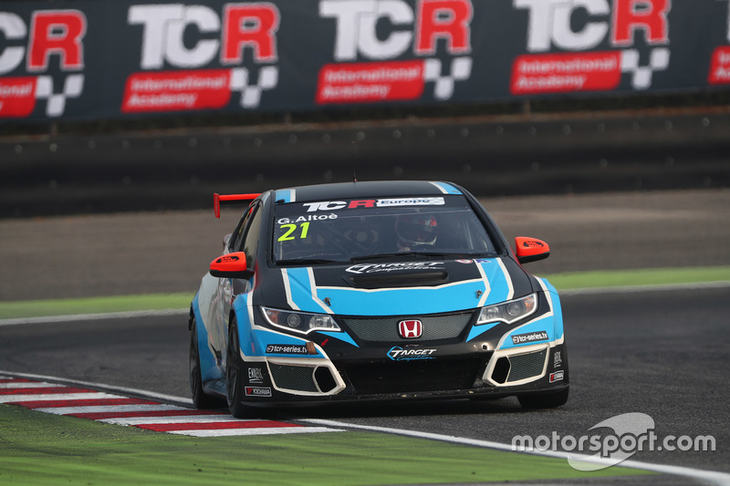 Giacomo Altoè, Honda Civic TCR, Target Competition