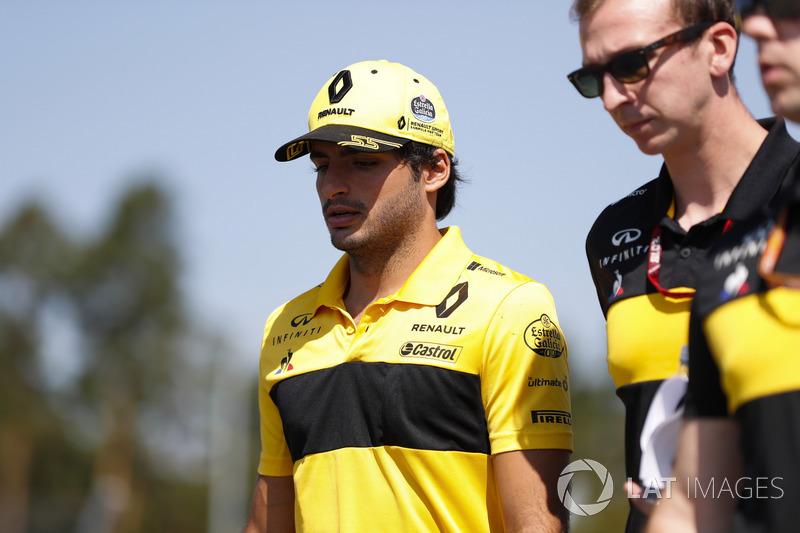 Carlos Sainz, piloto da Renault
