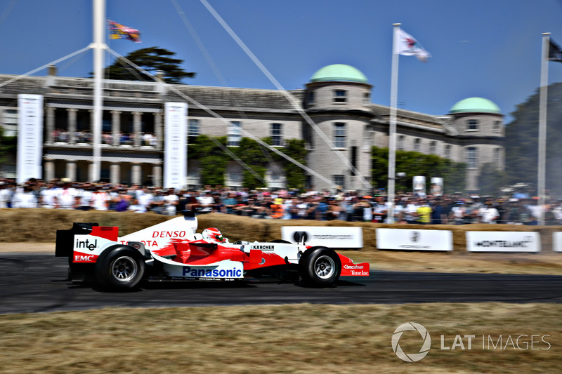 Toyota TF108 Harald Fuchs
