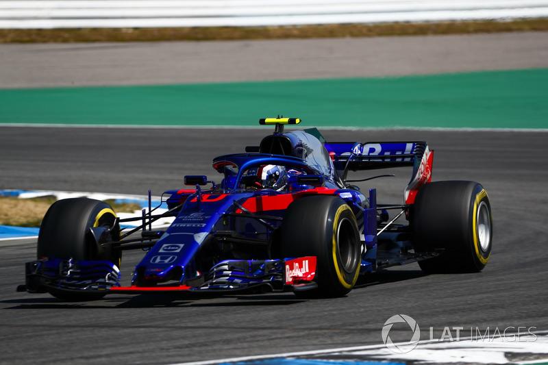 20: Пьер Гасли, Toro Rosso STR13 – 1:13.749 (штраф за замену элементов силовой установки)