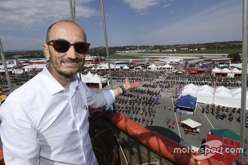 Claudio Domenicali, CEO de Ducati
