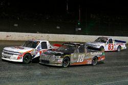 Ty Dillon, Young's Motorsports, Chevrolet Silverado and Noah Gragson, Kyle Busch Motorsports, Toyota Tundra Safelite AutoGlass
