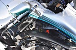 Detalle del Mercedes AMG F1 W09