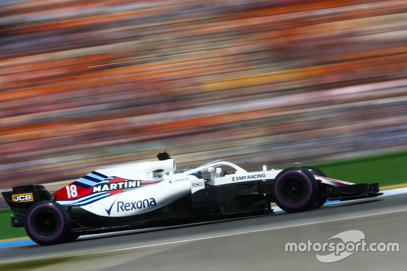 18: Lance Stroll, Williams FW41, 1'14.206