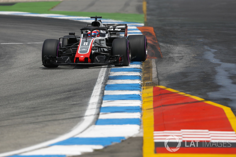 6: Romain Grosjean, Haas F1 Team VF-18, 1'12.544