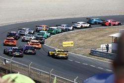 Restart, René Rast, Audi Sport Team Rosberg, Audi RS 5 DTM leads