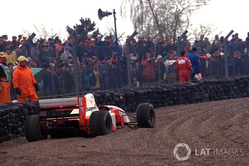 """Galvão Bueno: """"Andretti já foi embora, quando é que ele vai estrear?"""""""