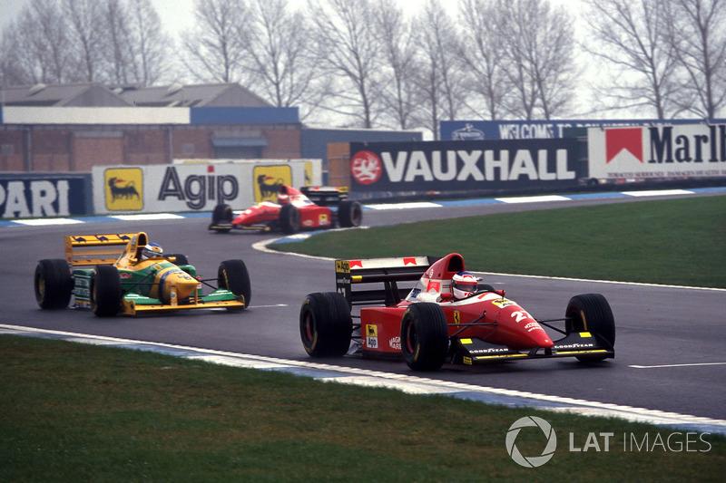 Jean Alesi, Ferrari
