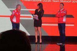 Davide Tardozzi, Team Manager Ducati e Paolo Ciabatti, Direttore Sportivo Ducati
