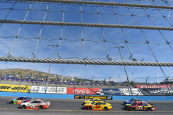 Kyle Busch, Joe Gibbs Racing Toyota y Matt Kenseth, Joe Gibbs Racing Toyota