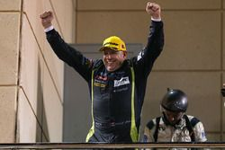 Podium LMGTE AM: winner Paul Dalla Lana, Aston Martin Racing