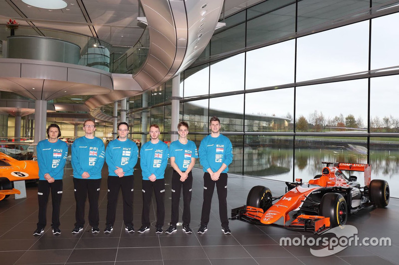 McLaren World's Fastest Gamer participants