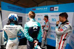 Nicolas Prost, Renault e.Dams, Luca Filippi, NIO Formula E Team, Edoardo Mortara, Venturi Formula E