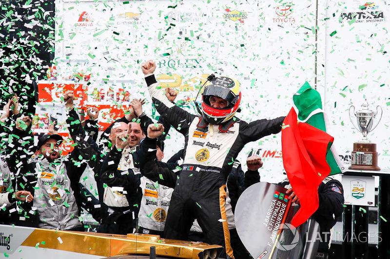 Il vincitore della gara Filipe Albuquerque, Action Express Racing