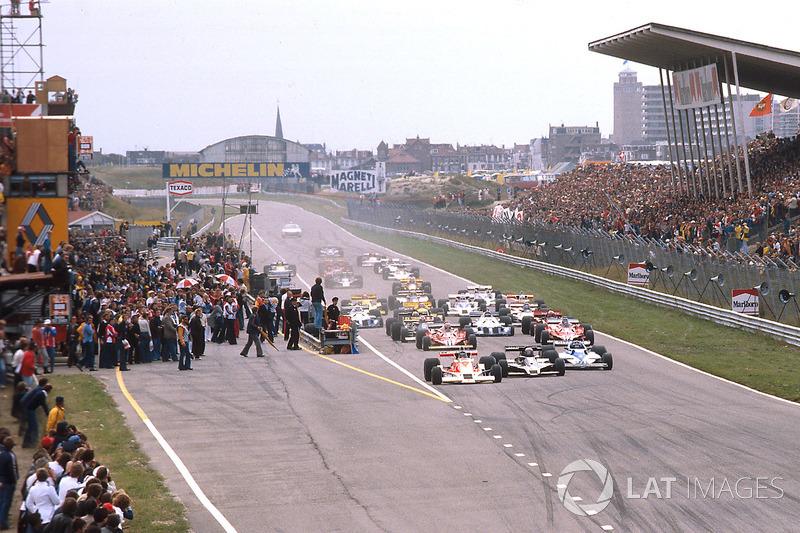 1976 год: лидирует Джеймс Хант, McLaren M26