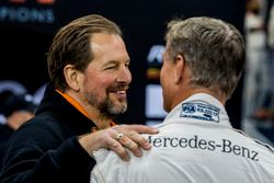 Fredrik Johnsson talks with David Coulthard