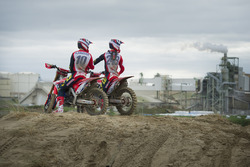 Tim Gajser y Calvin Vlaanderen, Team HRC