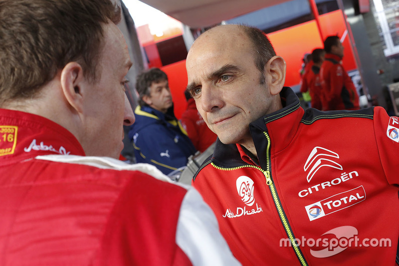 Pierre Budar, Direttore di Citroën Racing, Kris Meeke, Citroën World Rally Team