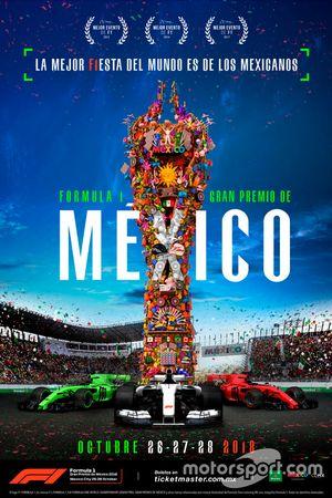 Cartel del GP de México 2018