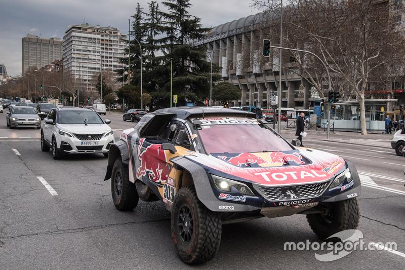 Карлос Сайнс, Лукас Крус, Peugeot Sport, у Мадриді