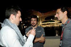 Carlos Rodriguez Santiago, Gamer & Founder of G2 Esports, Fernando Alonso, McLaren and Pedro De La R