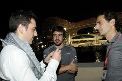 Carlos Rodriguez Santiago, gamer et fondateur de G2 Esports, Fernando Alonso, McLaren et Pedro De La Rosa