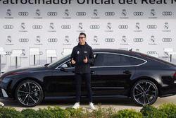 Cristiano Ronaldo et sa nouvelle Audi