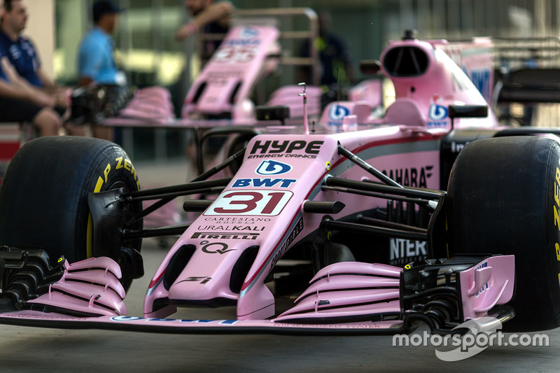 Burun ve ön kanat, Esteban Ocon, Sahara Force India VJM10