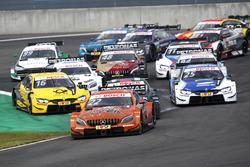 Ripartenza, Lucas Auer, Mercedes-AMG Team HWA, Mercedes-AMG C63 DTM, al comando