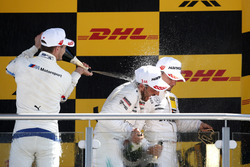 Podium: Marco Wittmann, BMW Team RMG, Gary Paffett Mercedes-AMG Team HWA, Pascal Wehrlein, Mercedes-AMG Team HWA