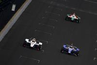 Oriol Servia, Scuderia Corsa with RLL Honda, Stefan Wilson, Andretti Autosport Honda