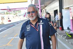 Dr. Vijay Mallya, Force India Formula One Team Owner