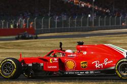 Race winner Sebastian Vettel, Ferrari SF71H