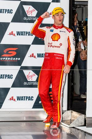 Third place Scott McLaughlin, DJR Team Penske Ford